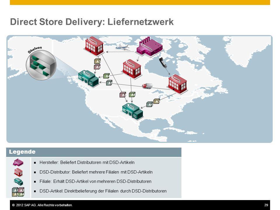 Direct Store Delivery: Liefernetzwerk