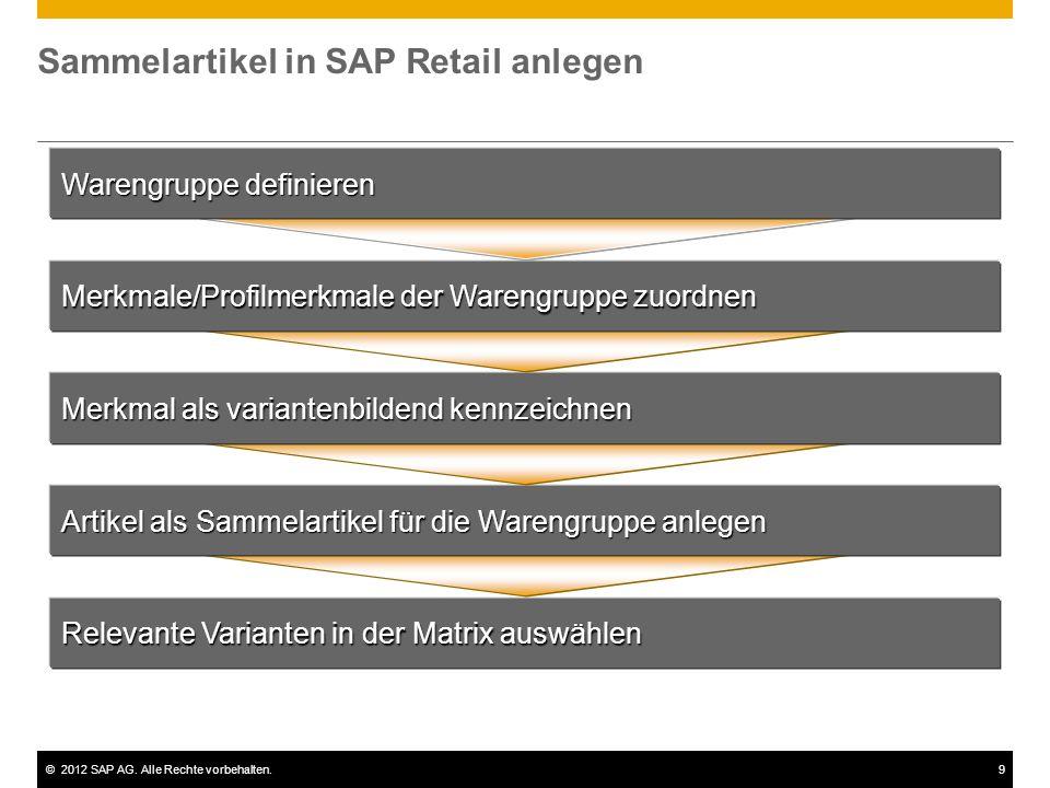 Sammelartikel in SAP Retail anlegen