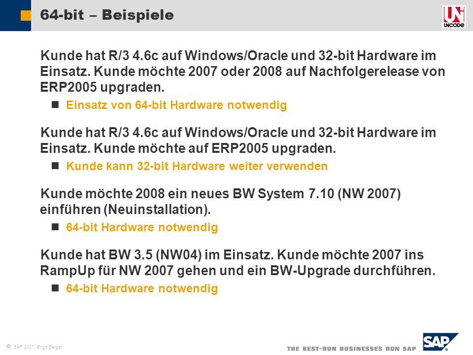 64-bit – Beispiele