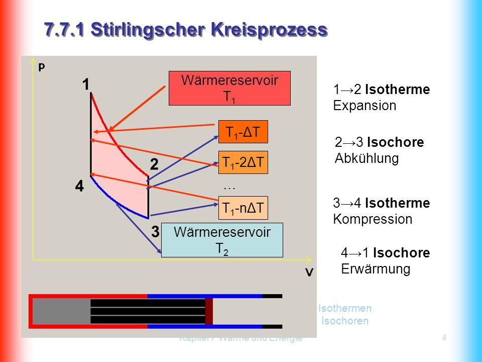 7.7.1 Stirlingscher Kreisprozess