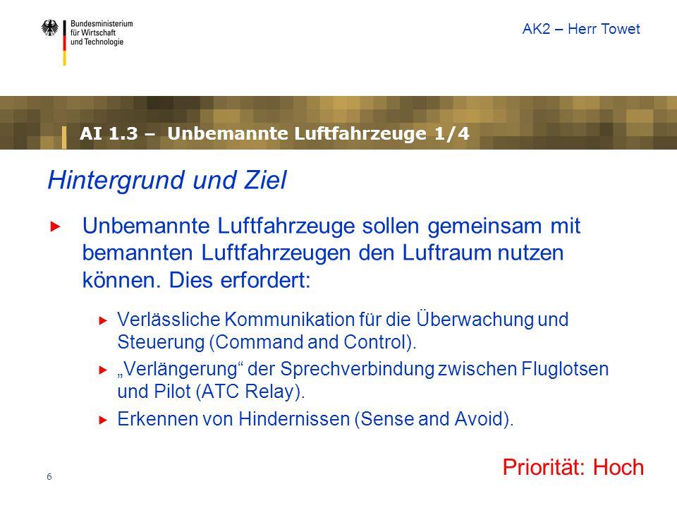 AI 1.3 – Unbemannte Luftfahrzeuge 1/4