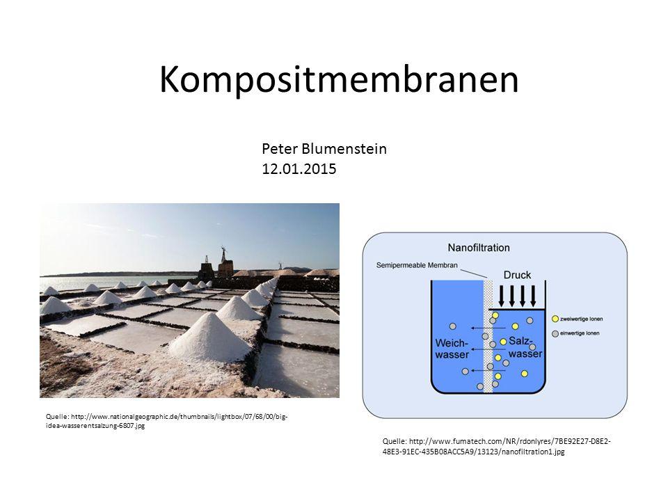Kompositmembranen Peter Blumenstein 12.01.2015