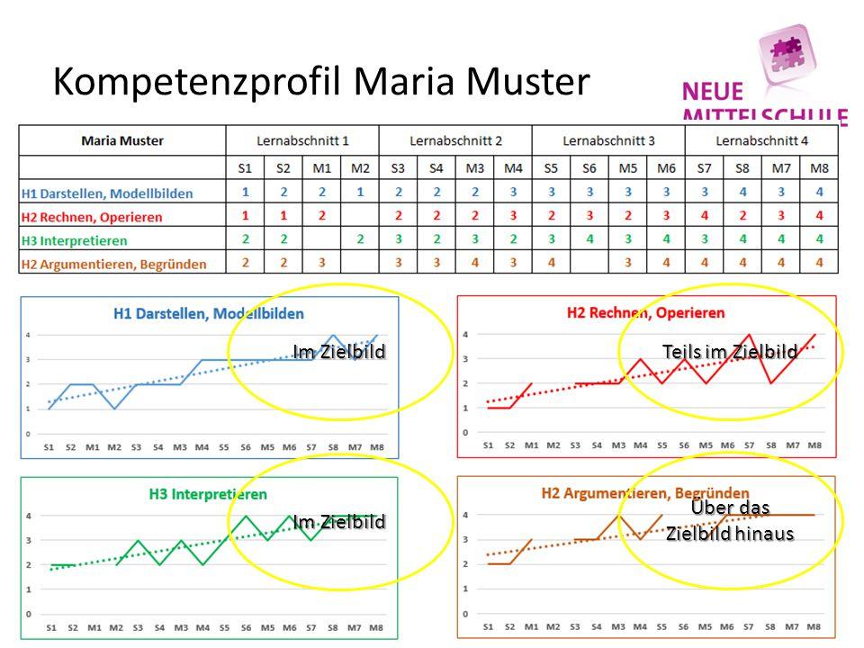 Kompetenzprofil Maria Muster