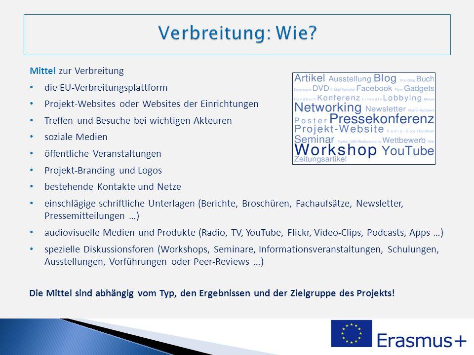 Verbreitung: Wie Mittel zur Verbreitung die EU-Verbreitungsplattform