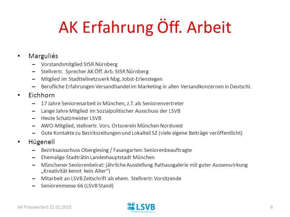 AK Erfahrung Öff. Arbeit