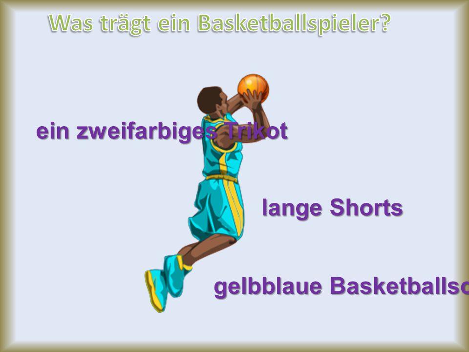 Was trägt ein Basketballspieler