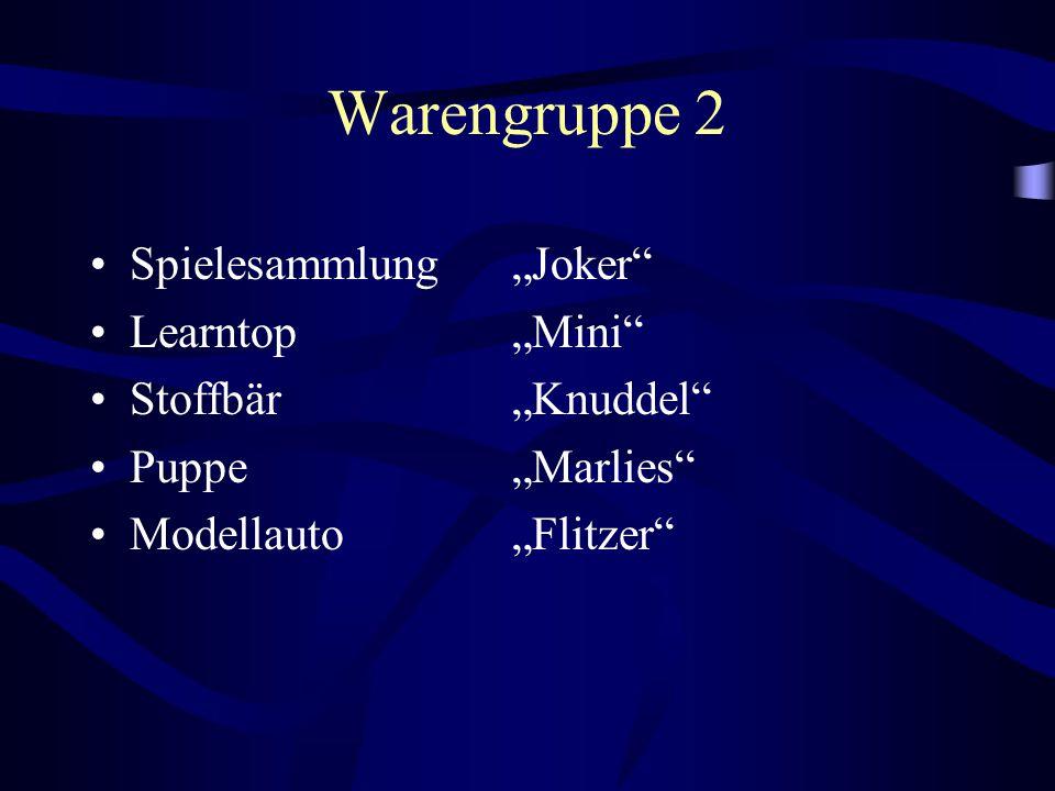 """Warengruppe 2 Spielesammlung """"Joker Learntop """"Mini"""