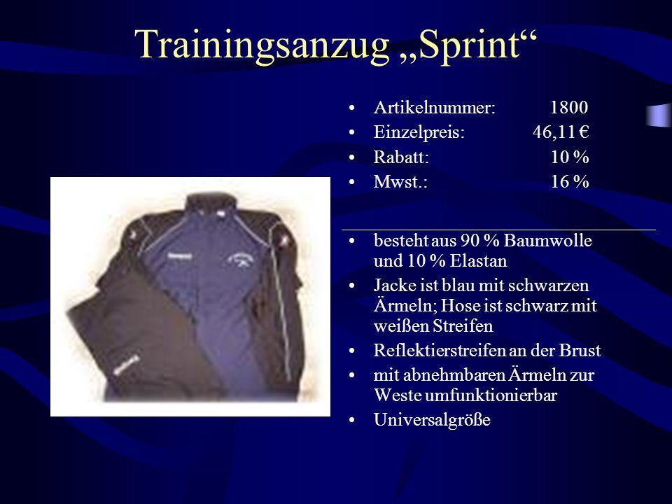 """Trainingsanzug """"Sprint"""