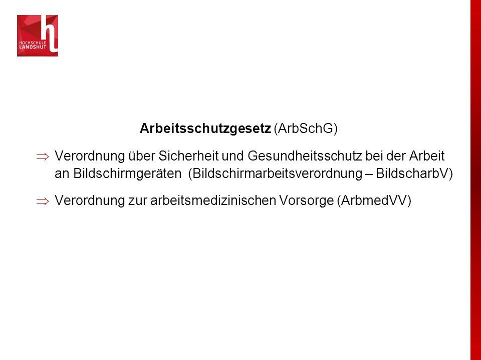 Vorsorgeuntersuchungen nach ArbmedVV