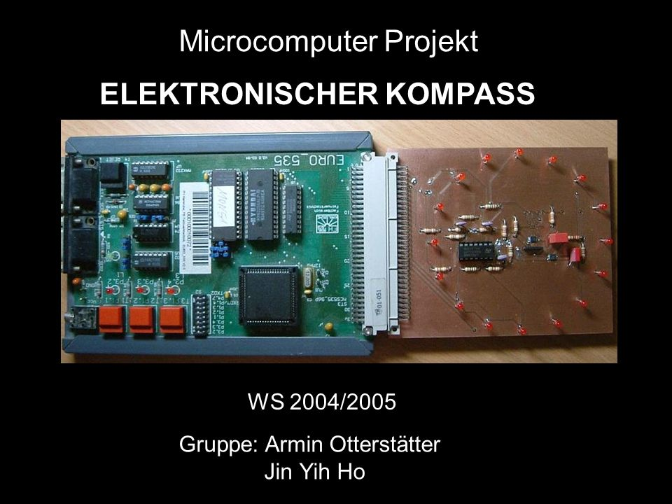 Microcomputer Projekt