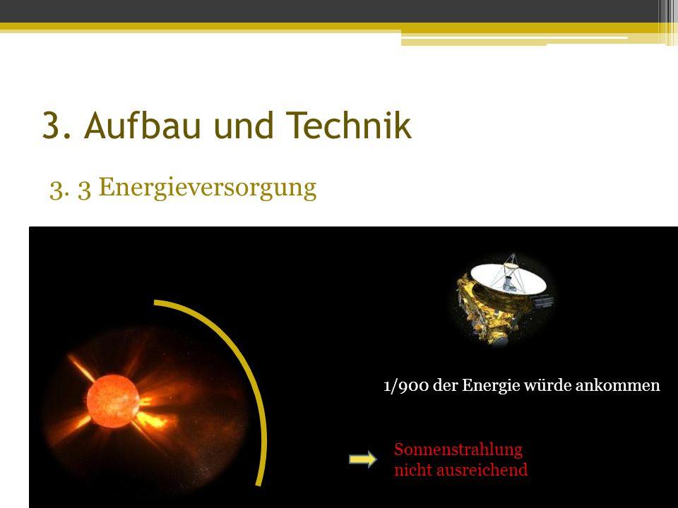 3. Aufbau und Technik 3. 3 Energieversorgung