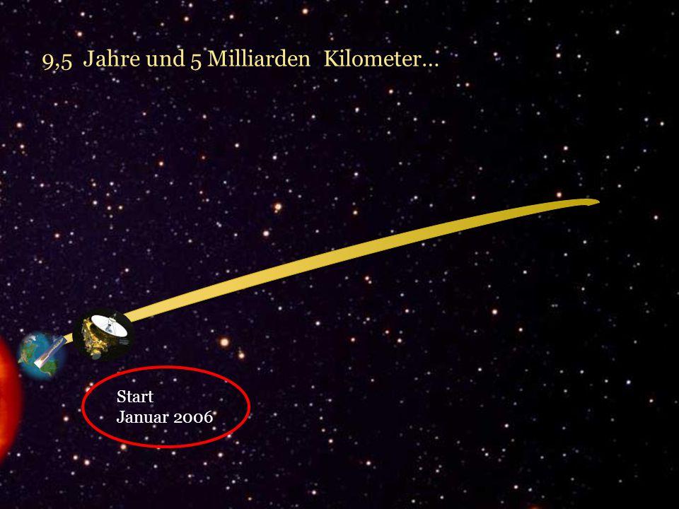 9,5 Jahre und 5 Milliarden Kilometer…