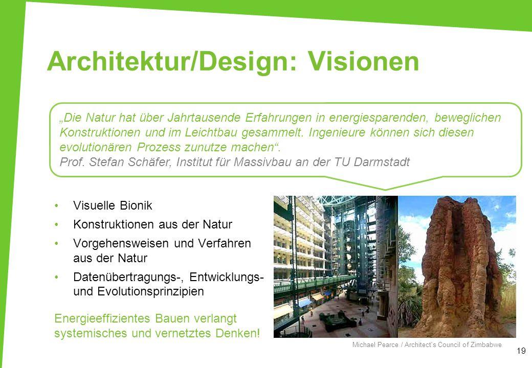 Architektur/Design: Visionen