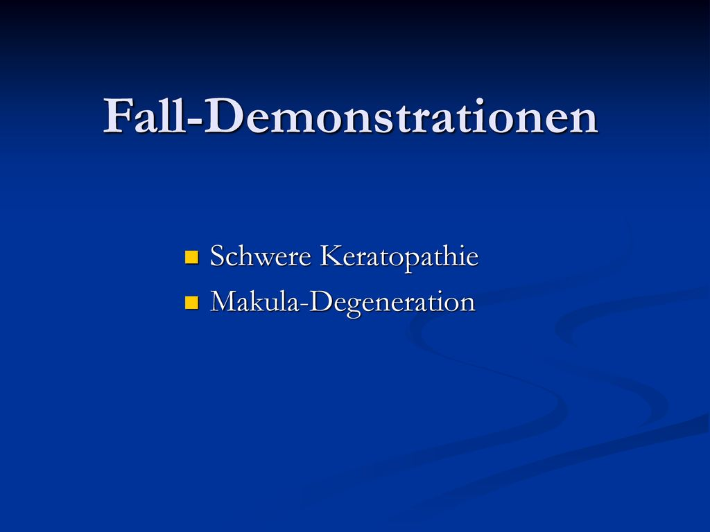 Fall-Demonstrationen