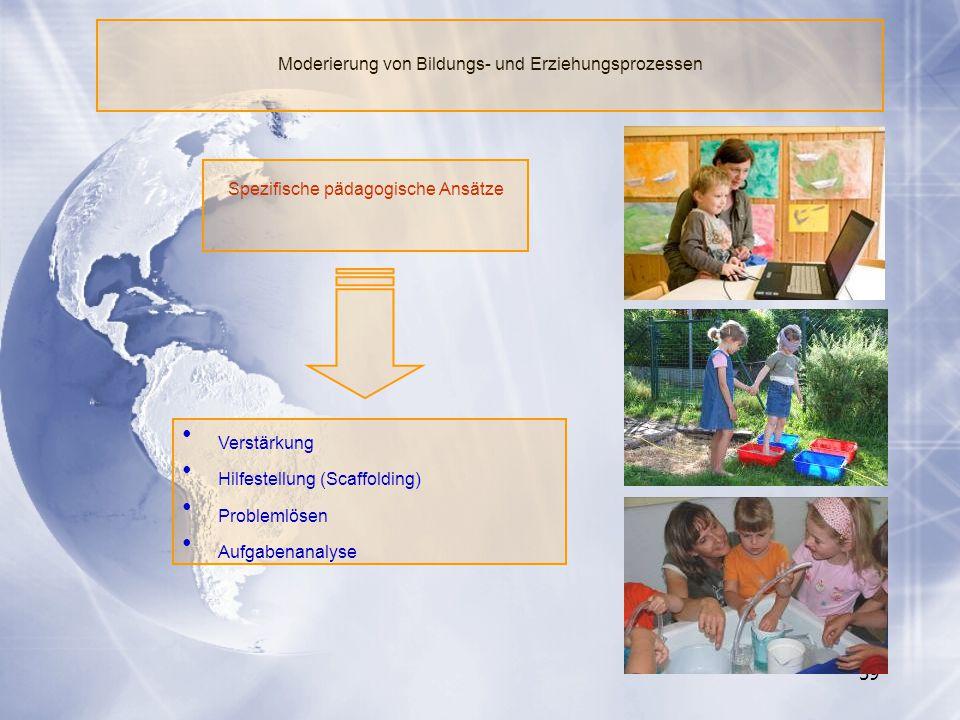 Moderierung von Bildungs- und Erziehungsprozessen