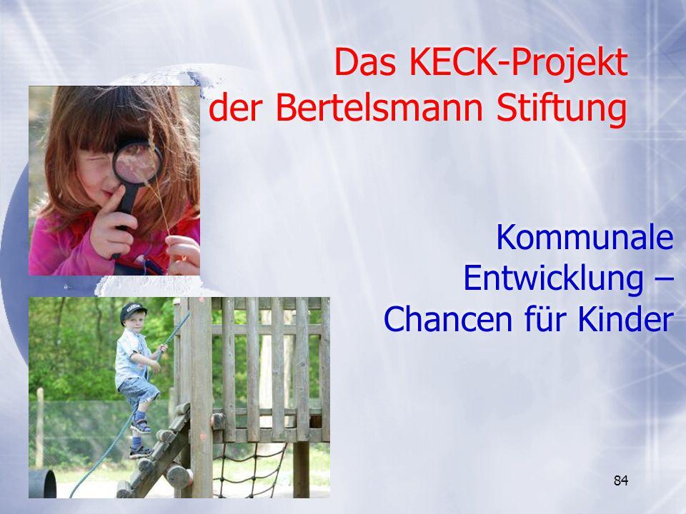 Das KECK-Projekt der Bertelsmann Stiftung