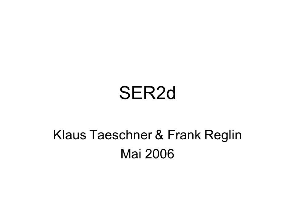 Klaus Taeschner & Frank Reglin Mai 2006
