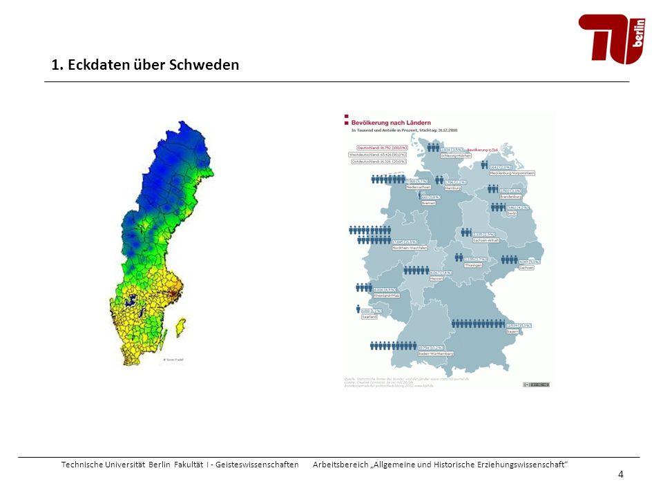 1. Eckdaten über Schweden
