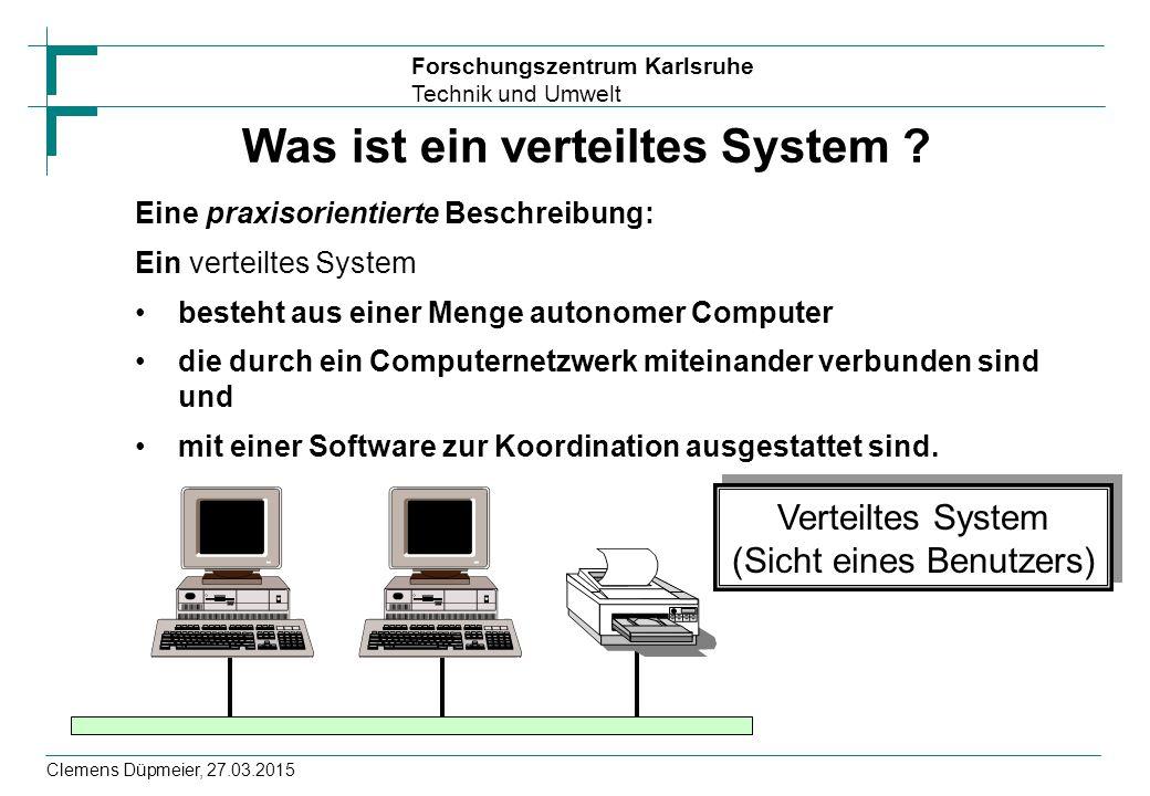 Was ist ein verteiltes System