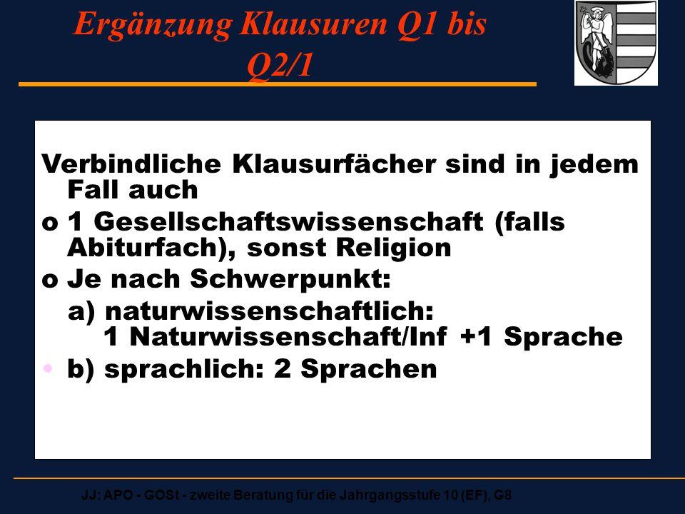 Ergänzung Klausuren Q1 bis Q2/1