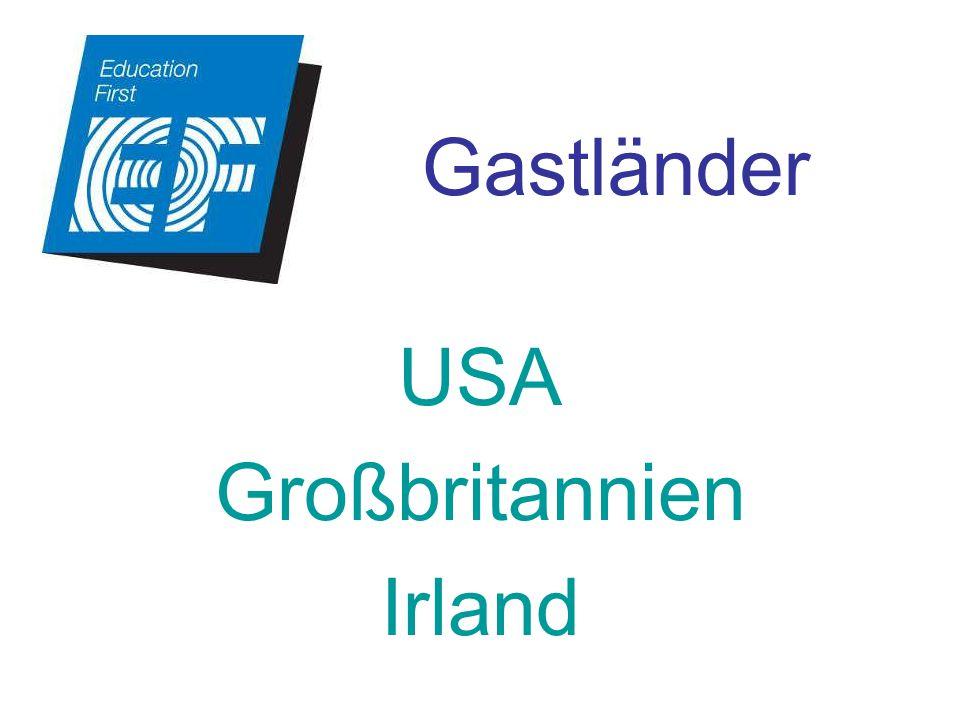 USA Großbritannien Irland