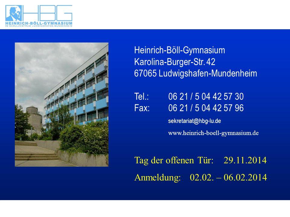 Heinrich-Böll-Gymnasium Karolina-Burger-Str
