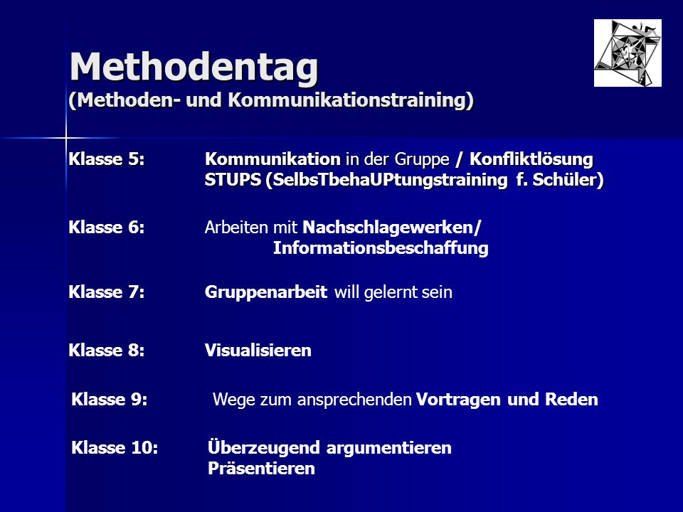 Methodentag (Methoden- und Kommunikationstraining)