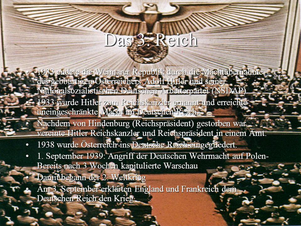 Das 3. Reich