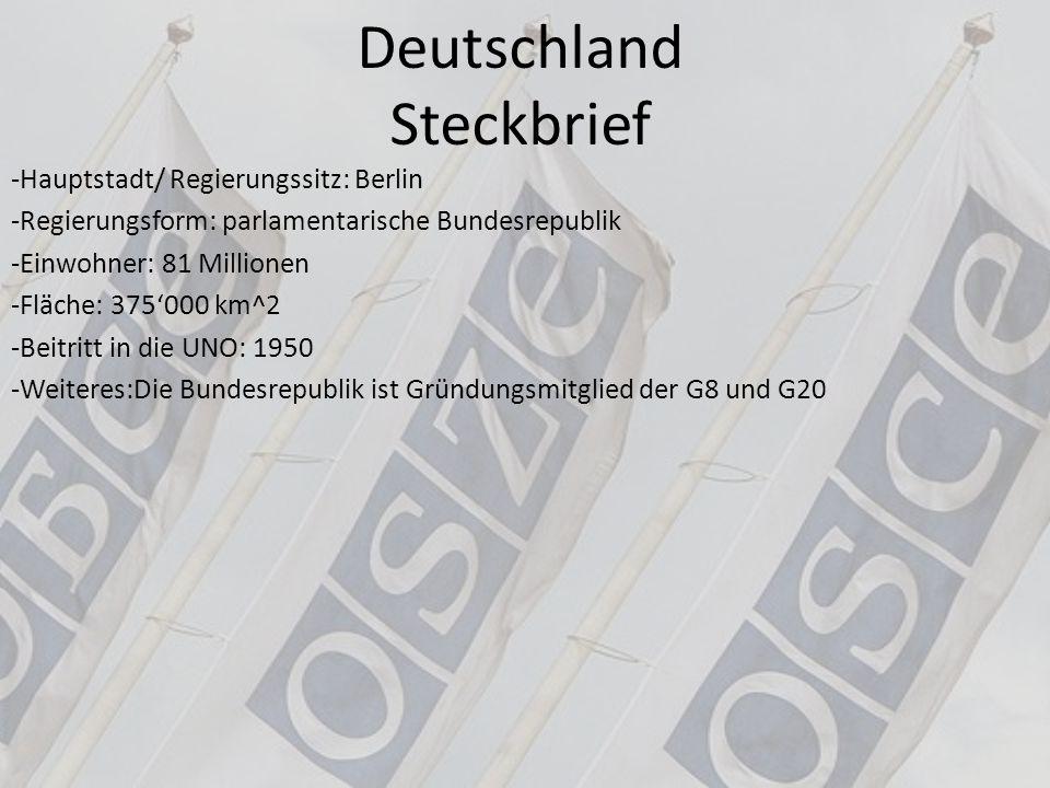 Deutschland Steckbrief