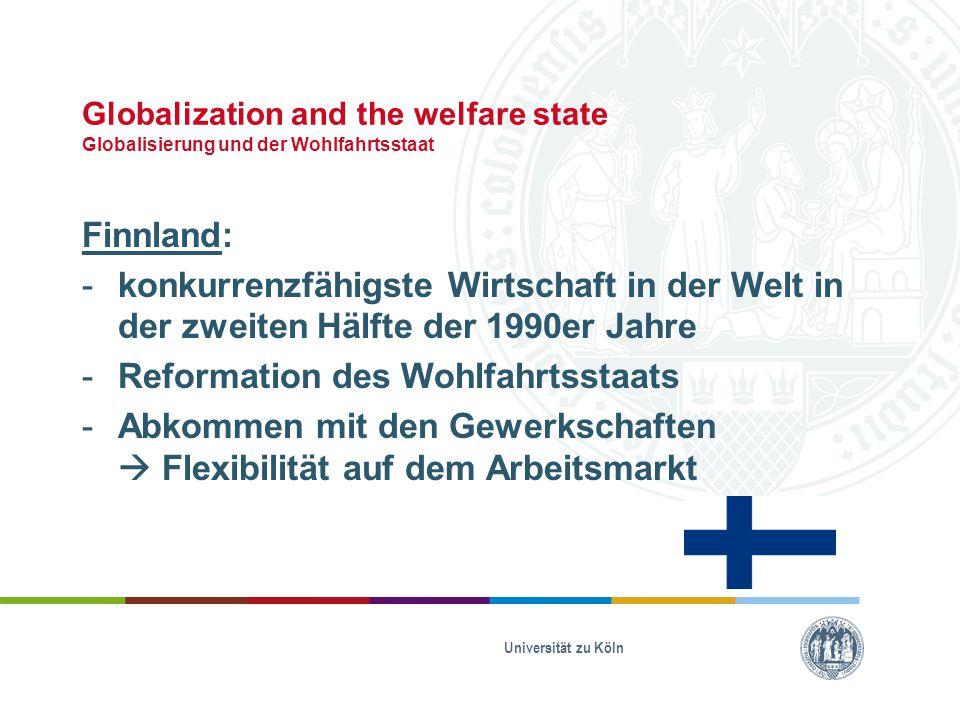 Reformation des Wohlfahrtsstaats