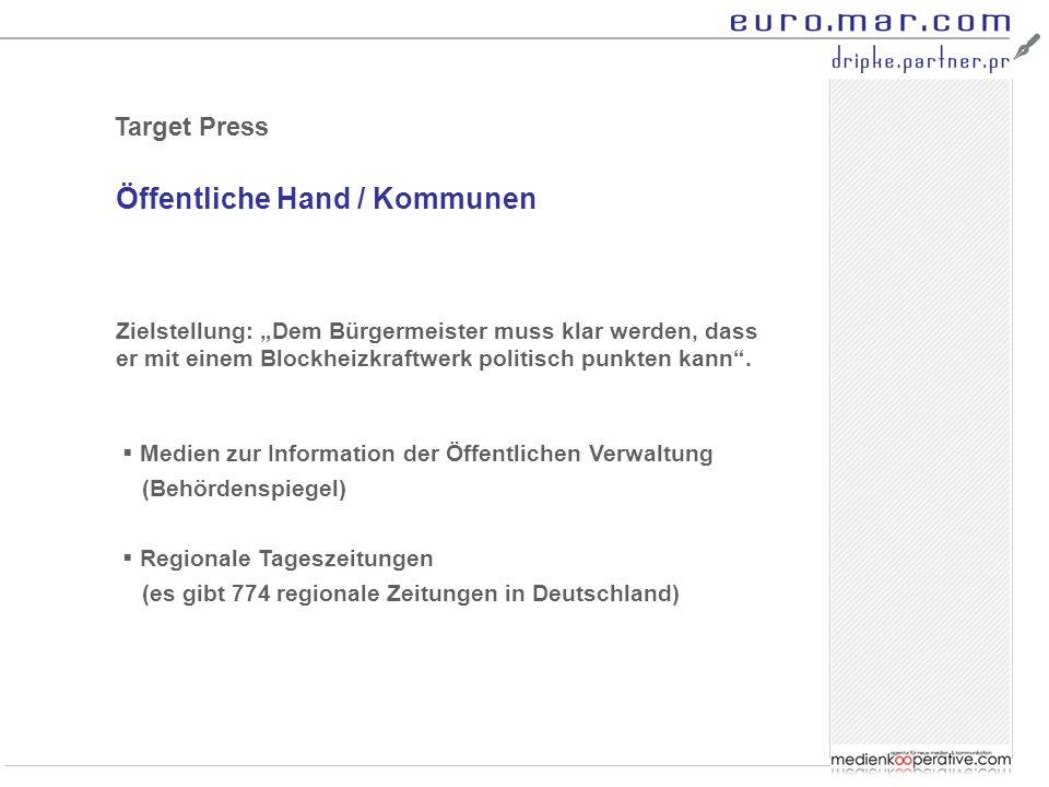 Öffentliche Hand / Kommunen