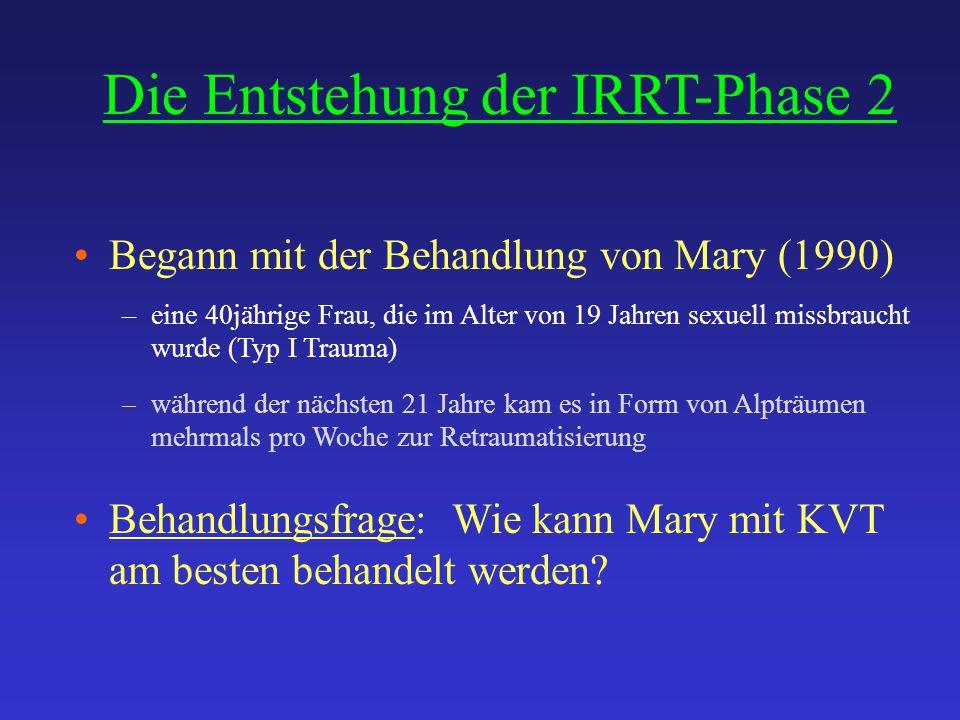 Die Entstehung der IRRT-Phase 2