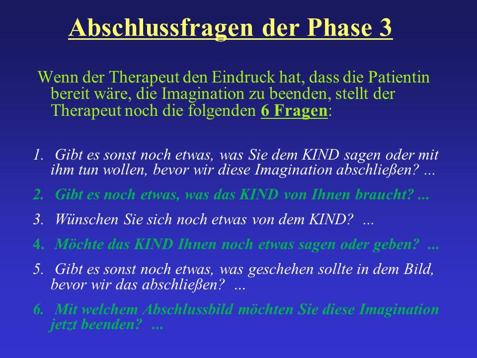 Abschlussfragen der Phase 3