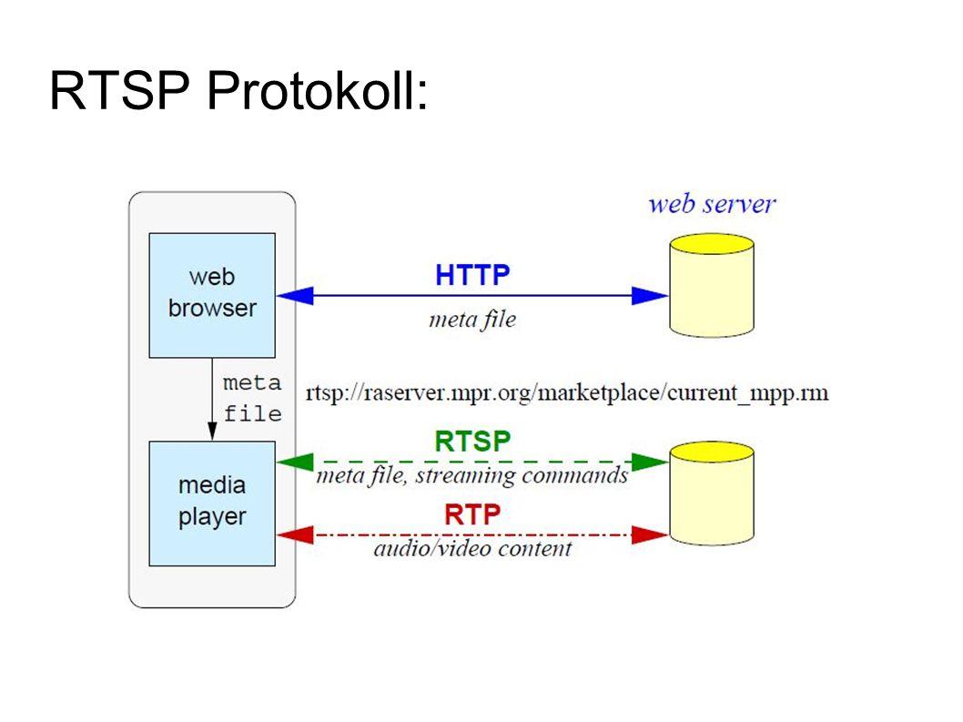 RTSP Protokoll: