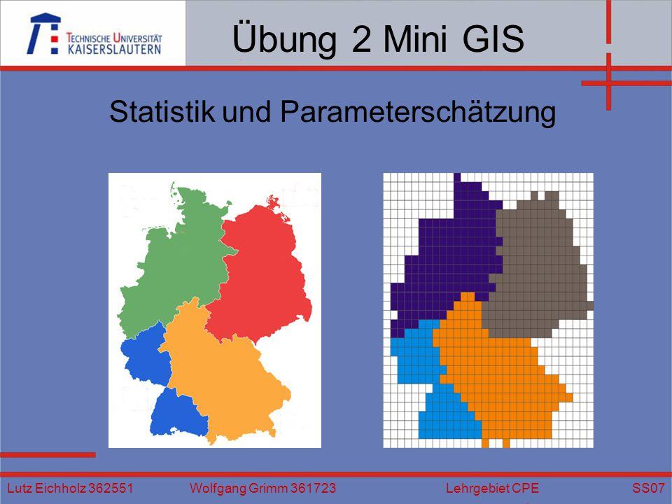 Statistik und Parameterschätzung