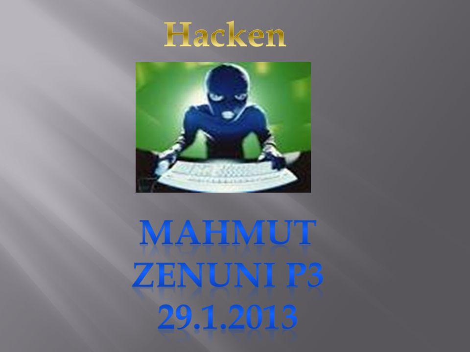 Hacken Mahmut Zenuni P3 29.1.2013