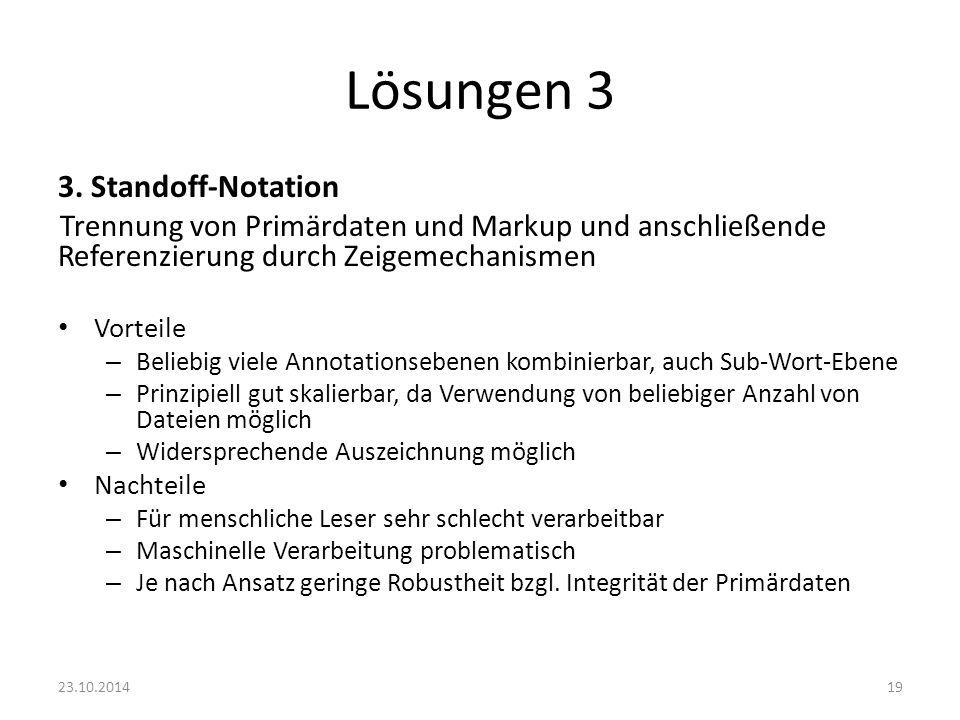Lösungen 3 3. Standoff-Notation