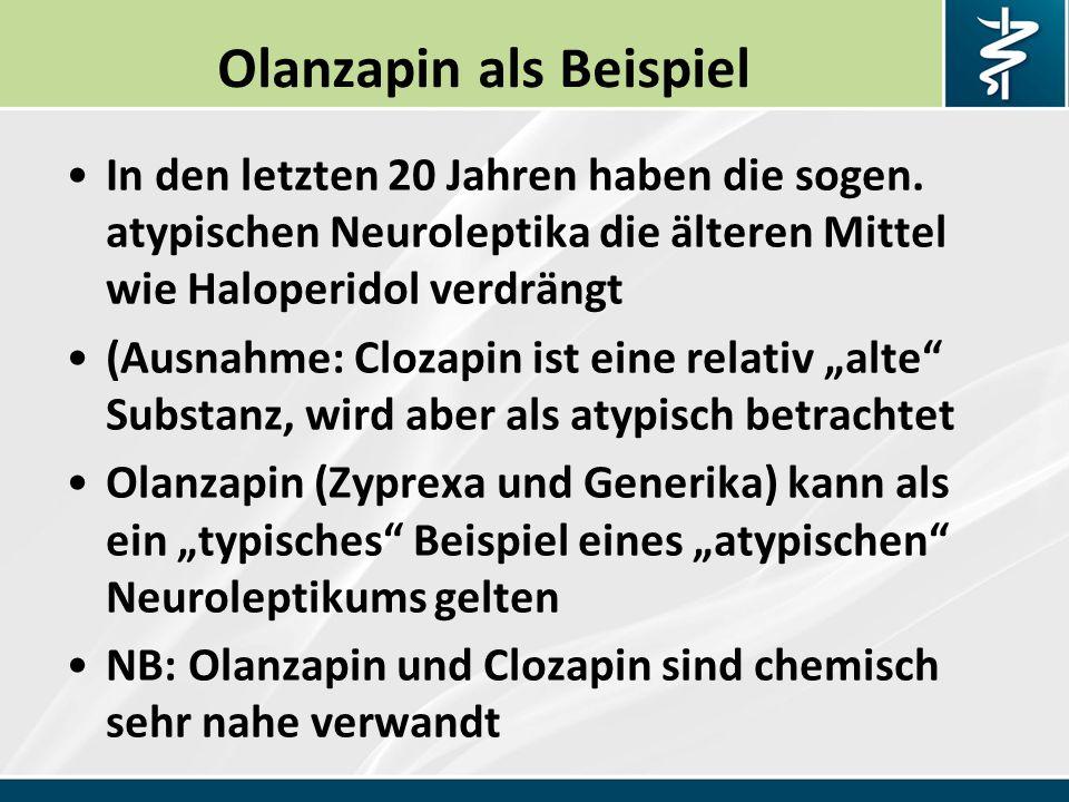 Olanzapin als Beispiel