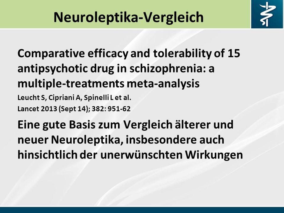 Neuroleptika-Vergleich