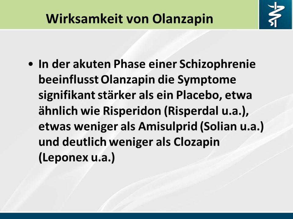 Wirksamkeit von Olanzapin