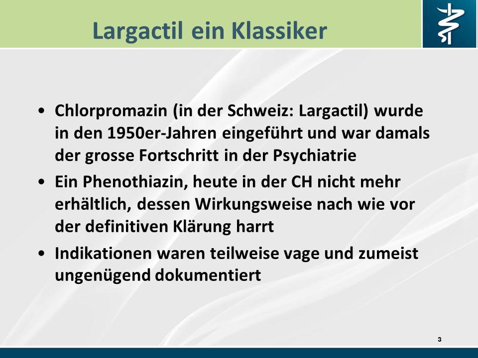 Largactil ein Klassiker