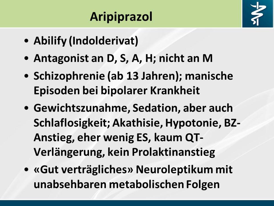 Aripiprazol Abilify (Indolderivat)