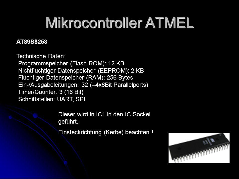Mikrocontroller ATMEL