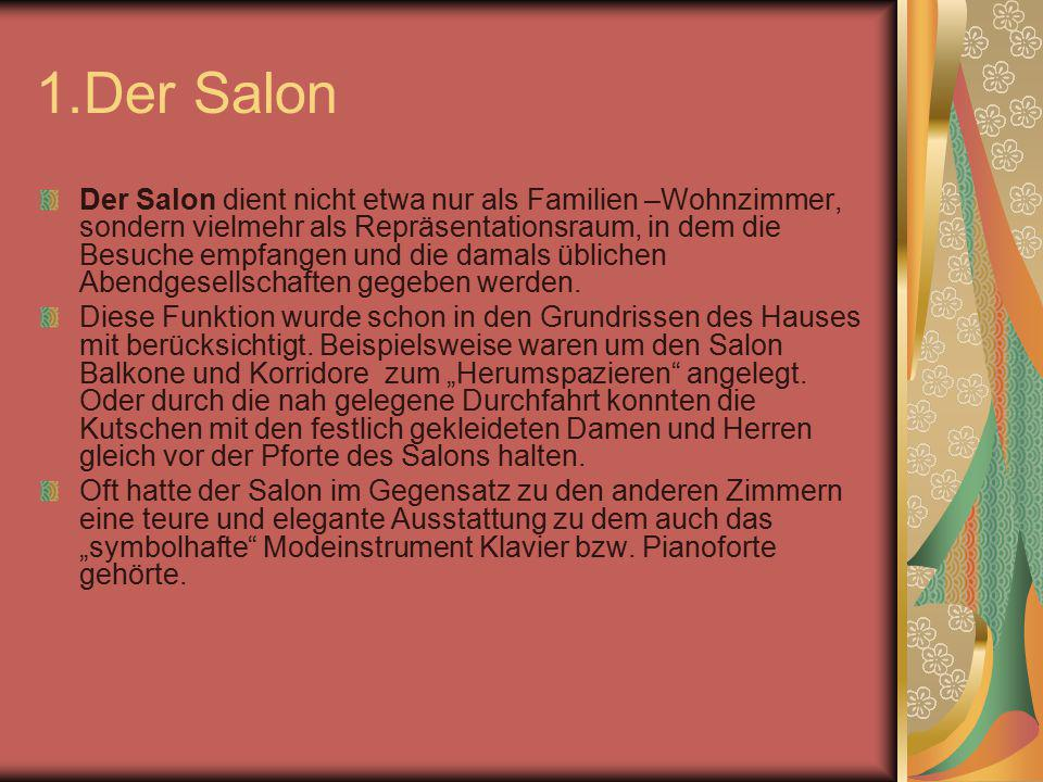 1.Der Salon