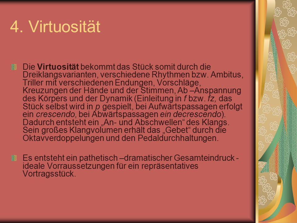 4. Virtuosität