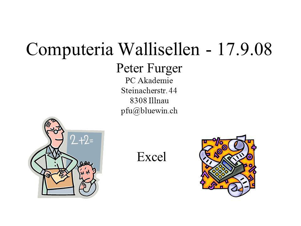 Computeria Wallisellen - 17. 9
