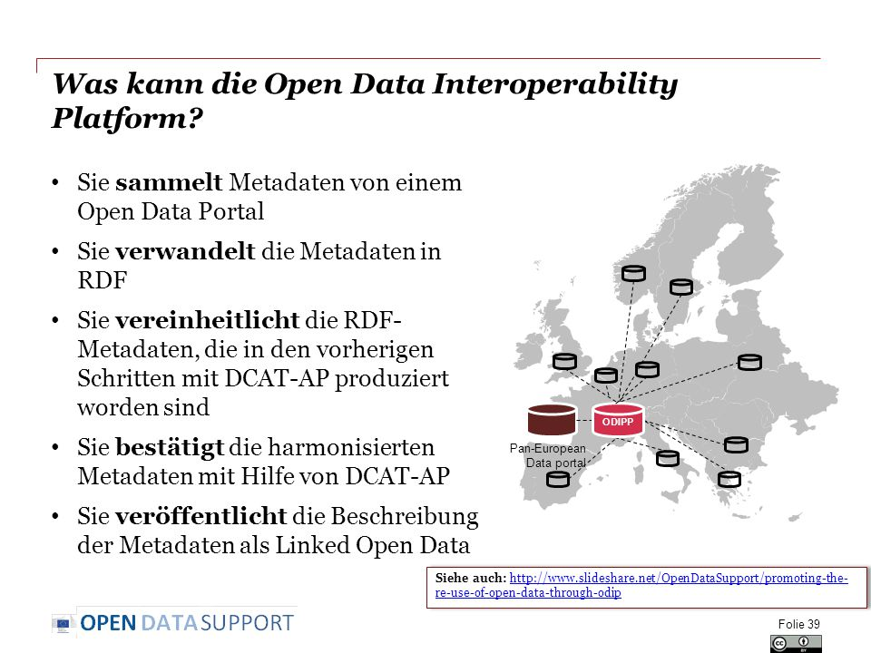 Was kann die Open Data Interoperability Platform