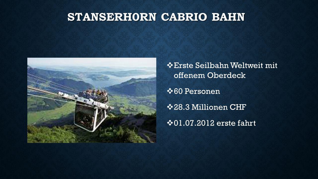 Stanserh0rn Cabrio Bahn