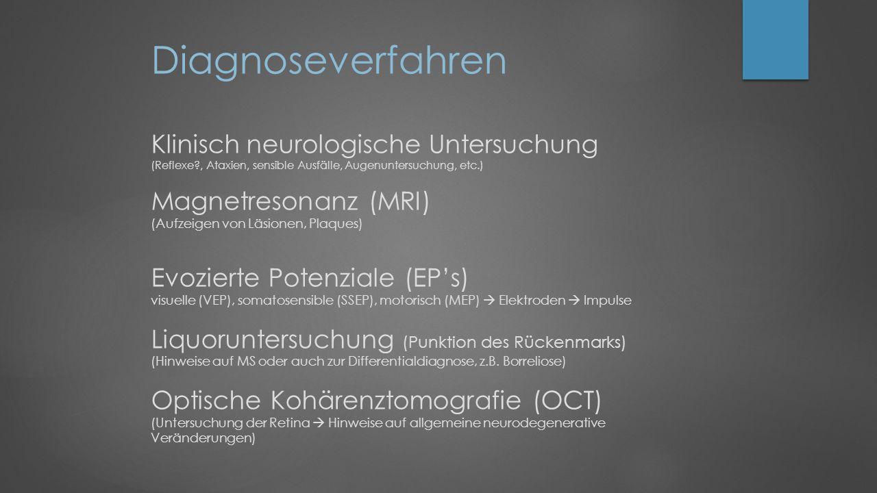 Diagnoseverfahren Klinisch neurologische Untersuchung (Reflexe