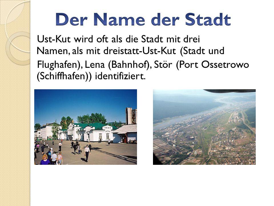 Der Name der Stadt